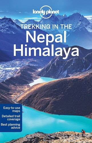 Lonely Planet Trekking in the Nepal Himalaya Front Cover (My Image)