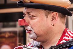clown (Jan Herremans) Tags: colours candid clown nederland alkmaar 2010 woophy janherremans