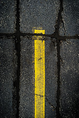 (093/366) Bisect the Trisection (CarusoPhoto) Tags: 6 black lines yellow composition project john photo day pavement parking lot line usual plus 365 everyday caruso mundane tar banal ordinary iphone bisect trisect bisection 366 trisection carusophoto