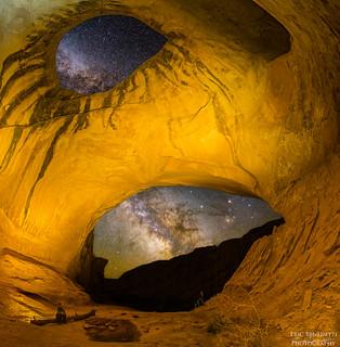 Wildhorse Cave Milky Way