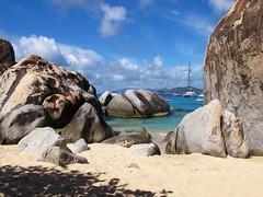 The Baths (T a k) Tags: ocean beach rock bvi britishvirginislands