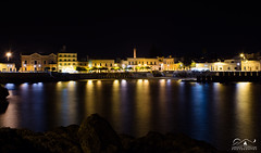 S.Maria al Bagno (lorenzo tramacere) Tags: water landscape nikon mare nightscape luci colori riflessi d7200