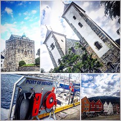 Bergen Port - #Visitnorway (Miles7one) Tags: travel sea port norge bergen milestone visitnorway wanderlus7