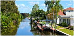 St Petersburg, Florida (lagergrenjan) Tags: st boats canal florida petersburg lifts