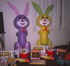 Easter 1975 (Stabbur's Master) Tags: easter easterbunny easterbasket eastercandy