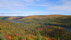 Mauricie National Park (sulkyghrafer) Tags: park autumn trees red orange canada green fall colors leaves automne rouge maple colours couleurs vert qubec mauricie feuilles rable natio