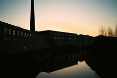 My Year in Film 54/366 (Squatbetty) Tags: film sunrise 35mm pentax scan bingley scannedfilm fujicolour britanniabridge pentaxpc35afm