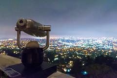 Calling Me Home (jackoraptor) Tags: california city night lights losangeles nikon cityscape bokeh telescope socal downtownla southerncalifornia griffithpark griffithobservatory tamron dtla downtownlosangeles nikond610 jackoraptor366