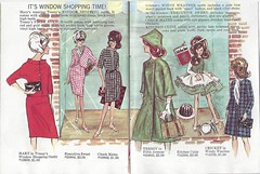 7. Tressy, Mary, & Cricket Booklet (Foxy Belle) Tags: fashion vintage clothing doll character mary makeup illustrations cricket american booklet 1960s names toots catalogue identify tressy