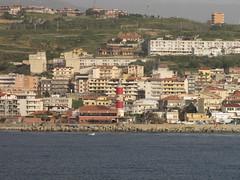 Messina Strait - IMG_5684 (Captain Martini) Tags: cruise lighthouse cruising sangiovanni cruiseships hollandamericaline messinastrait koningsdam puntapezzo