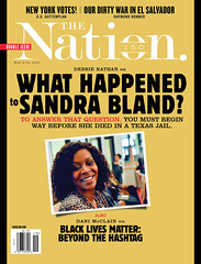 What Happened to Sandra Bland?, The Nation / May 9/16/2016 (rbest90) Tags: black magazine texas sandra politics jail bland what editorial lives to happened matter thenation