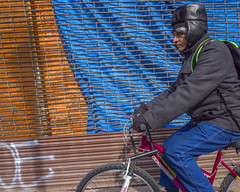 Chestnut Street, 2016 (Alan Barr) Tags: street people color philadelphia bicycle lumix candid streetphotography panasonic sp streetphoto chestnutstreet 2016 gx8 cith