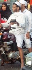 Calicut bikers (bokage) Tags: street india dress kerala motorbike calicut kozhikode bokage