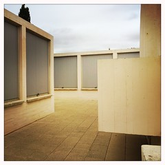 Fundacin Joan Mir, Barcelona - Spain (haperla) Tags: barcelona city espaa architecture square town spain bcn espagne ville barcelone carr raphal insta firon haperla