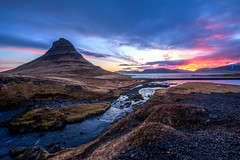 kirkjufell sunrise (tryggstrand) Tags: morning travel sky sun mountain mountains color nature colors beautiful clouds sunrise river landscape island photography landscapes iceland spring nikon colorful flickr view image sunny d750 kirkjufell nationalgeographic natgeo landscapephotography naturephoto 500px instagram nikond750