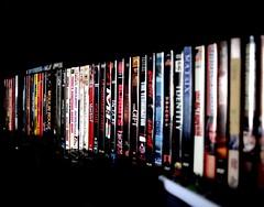Dvd collection (vinnie saxon) Tags: dvd nikon movies 24mm sidelight d600 nikoniste