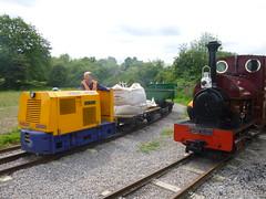 P1050727 (Hampton & Kempton Waterworks Railway.) Tags: diesel loop galaday tippers 2015 darent spelthorne warflat