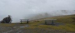 Not much of a view (blueachilles) Tags: mist rain fog bench breconbeacons hbm bemchmonday ditookthis