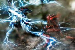 Plasma Thunder (Poommelo) Tags: digitalart robo evangelion getter toyphotography revoltech