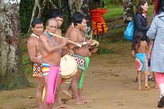 Embera Indian Band, Jungles of Panama (Joseph Hollick) Tags: jungle panama embera emberaindians