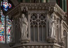 Mnster_Heilig_Kreuzkirche_Kanzel-0725_b (encyclopaedia) Tags: mnster kanzel kreuzkirche heiligkreuzkirche bildhauerei neogotik