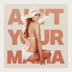 Jennifer Lopez - Ain't Your Mama (Alexander Forsey Designs) Tags: design artwork graphic album jennifer mama your cover american single idol lopez aint