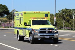 LAFD (So Cal Metro) Tags: rescue plane la losangeles airport aircraft aviation jet lafd ambulance dodge lax ram paramedic ems emt