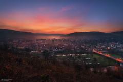 mystic sunrise (Alexander Lauterbach Photography) Tags: sun nature sunrise germany landscape deutschland moody nebel sony sonnenaufgang hannmnden a7rii a7rm2
