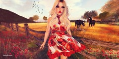 And everything just seems to change.. (Sistine Kristan (Sisely) - Toolbox Chicks) Tags: flowers red people hair dead outdoors mesh sl secondlife poppy lamb collaborative dollz liaison maitreya labelmotion dreamsgacha