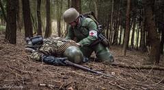 Sani (Andy Darby) Tags: helmet german medic sani arley paratrooper k98 fallschirmjager fjr5