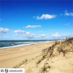 @elisebordin (Le Tranche sur Mer - Tourisme) Tags: ocean sunset mer holiday beach souvenirs la vacances soleil sable du souvenir sur plage puy fou vende ocan tranche latranchesurmer instagram
