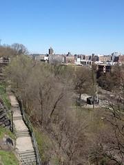 New York. Harlem from Morningside Park. (denisbin) Tags: park newyork photobooth harlem morningside