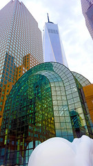 Brookfield Place (Lost in Flickrama) Tags: new city nyc newyorkcity glass metal concrete downtown skyscrapers manhattan worldtradecenter towers iconic bigapple 1wtc brookfieldplace