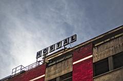 Bates Hostel, Martorell (Santini1972) Tags: sky building abandoned facade hostel edificio cielo fachada hostal martorell darktable nikond5100