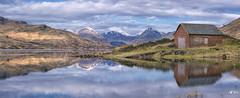 The Lost Ark (J McSporran) Tags: reflection landscape scotland boathouse trossachs arrocharalps locharklet arklet