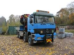 MB Actros Kran (Vehicle Tim) Tags: truck mercedes crane kran mb lkw laster schwerlast