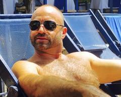 IMG_0864 (danimaniacs) Tags: shirtless man sexy guy beard mexico hunk puertovallarta stud scruff bodyhair mansolo