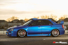"WEDS Maverick 710S - Subaru STI 04 Blue • <a style=""font-size:0.8em;"" href=""http://www.flickr.com/photos/64399356@N08/26408228651/"" target=""_blank"">View on Flickr</a>"