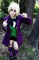 Alois Trancy (Drowned Out By Roses) Tags: she nature girl cosplay her alois comicon travestimento trancy blackbutler napolicomicon2016 lovecosplay