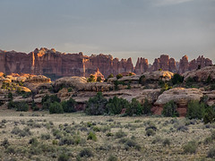 Sunset on Needles NP Canyonlands (maryannenelson) Tags: landscape outdoors utah nationalpark spring rocks canyonlands rockformations