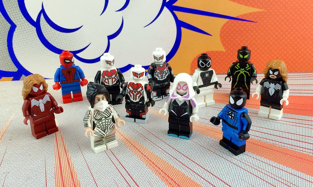 lego spiderman 2099 - photo #41
