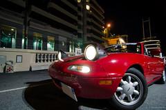 Mazda MX-5 Miata NA (RaceOnTheEdge) Tags: sea mer port french harbor riviera cte monaco ctedazur mc mazda miata azur mx5