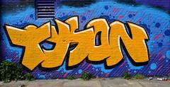 graffiti amsterdam (wojofoto) Tags: holland amsterdam graffiti tyson nederland netherland ndsm wolfgangjosten wojofoto