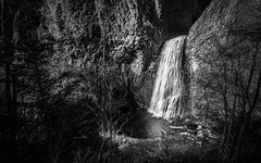 Cascade du Ray Pic (Fabrice Desforges) Tags: bw waterfall superb nb simply cascade ardeche ardche orgues basaltiques