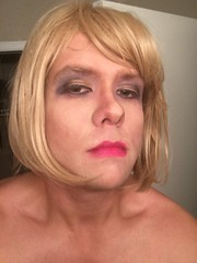 Not as good as when my SO does my make up, but I'm getting better #sissy #sluts #forcedfeminization #trap #trans #crossdress #beforeandafter (anna.brighteyes) Tags: sissy trans beforeandafter crossdress trap sluts forcedfeminization