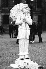 Amsterdam 2016 - Dam - Living Statue (PhotompNL) Tags: street blackandwhite bw monochrome amsterdam canon eos artist noir noiretblanc zwartwit mark dam nederland sigma ii 5d schwartz weiss blanc feher straat arties weis fekete