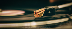 Day 116: Put the Needle on the Record. (Howie1967) Tags: music canon vintage dof vinyl technics player needle record stylus 5d recording