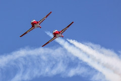 Snowbirds (Paul Rioux) Tags: canada airplane flying team outdoor aircraft military smoke jet canadian formation airshow airforce forces snowbirds abbotsford aerobatic canadianforces