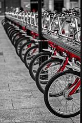 BiZi (Cristina Ovede) Tags: zaragoza bici vehculo desaturacin