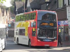 NXWM 4926 BK63YWN 'Heidi' The Lower Parade, Sutton Coldfield on 902 (1280x960) (dearingbuspix) Tags: heidi nationalexpress travelwestmidlands 4926 nationalexpresswestmidlands nxwm bk63ywn